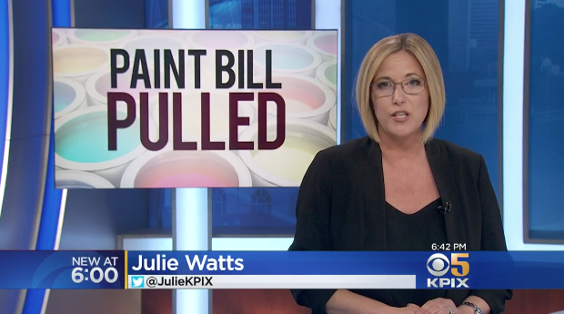 Paint Bill Pulled