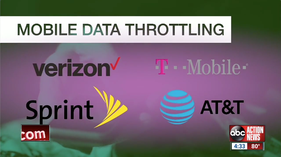 data throttling