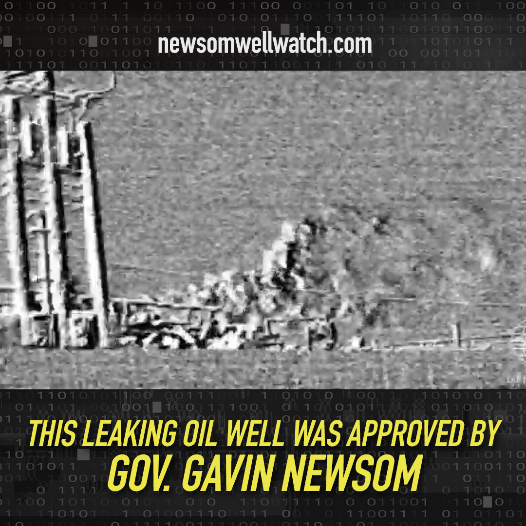 Newsom Well Watch Shows Leaking Wells