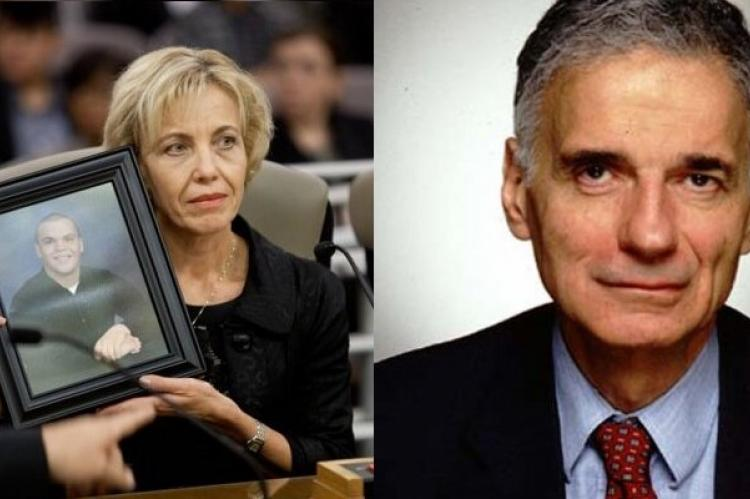Tammy Smick and Ralph Nader