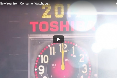 Happy New Years from Consumer Watchdog