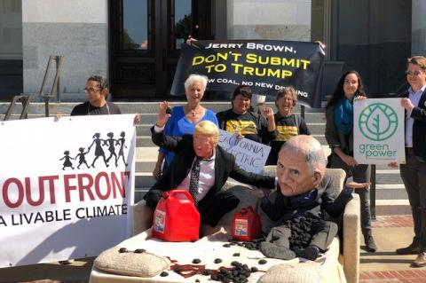 Consumer and Environmental Advocates Call On Gov. Brown to Stop California Energy Transfer to Trump