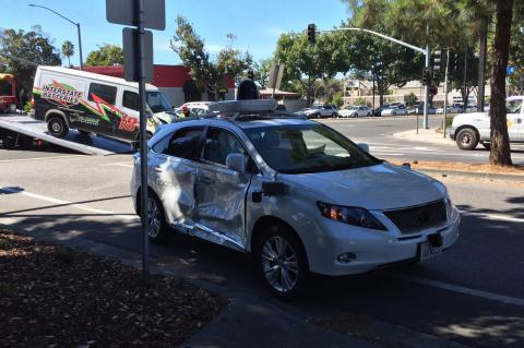 Google Self-Driving Car Crash