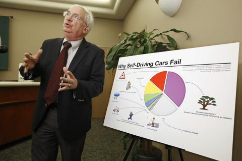 John Simpson on Driverless Car risks at CA DMV