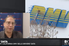 carmen Balber on dmv selling data