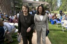Feinstein and Harris