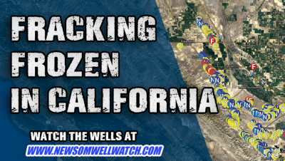 fracking frozen in ca