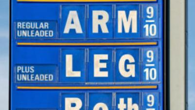 Gas Prices Arm Leg Both